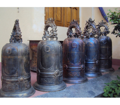 Đúc chuông đồng tại chùa,bán chuông đồng