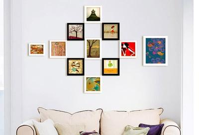 Mẫu 20  bộ khung ảnh treo tường xinh xắn độc đáo cho ngôi nhà iu quý, văn phòng làm việc, quà tặng độc đáo