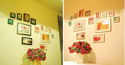 MD Love 1   bộ khung ảnh treo tường xinh xắn cho ngôi nhà iu quý, văn phòng làm việc, quà tặng độc đáo