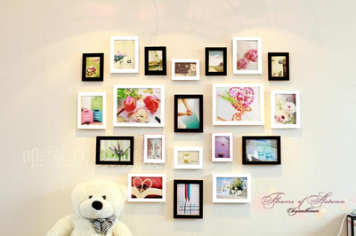 MD Love 6   bộ khung ảnh treo tường xinh xắn cho ngôi nhà iu quý, văn phòng làm việc, quà tặng độc đáo