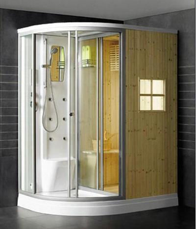 Phòng tắm xông hơi và xông khô OLS  W0513  Left, Right