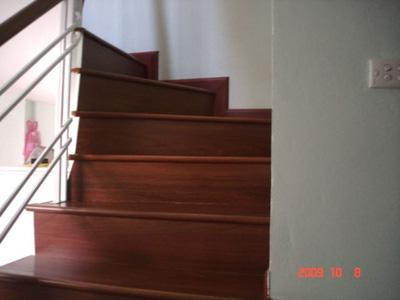 Mặt bậc cầu thang gỗ Phay sừng