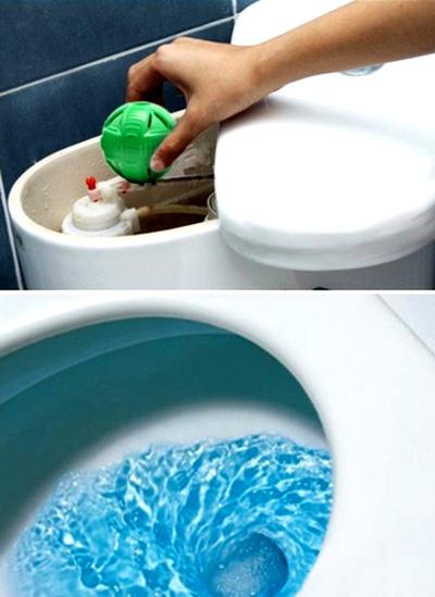 Combo 2 bóng tẩy Toilet