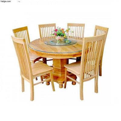 Bộ bàn ăn 06 ghế gỗ sồi nga EPA 130