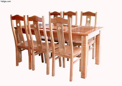Bộ bàn ghế ăn gỗ sồi EPA 137