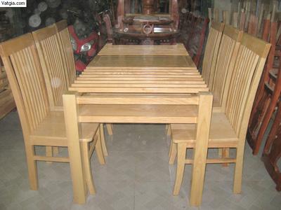 Bộ bàn ghế ăn gỗ sồi nga EPA 109