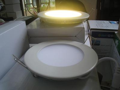 Đèn LED âm trần đế mỏng