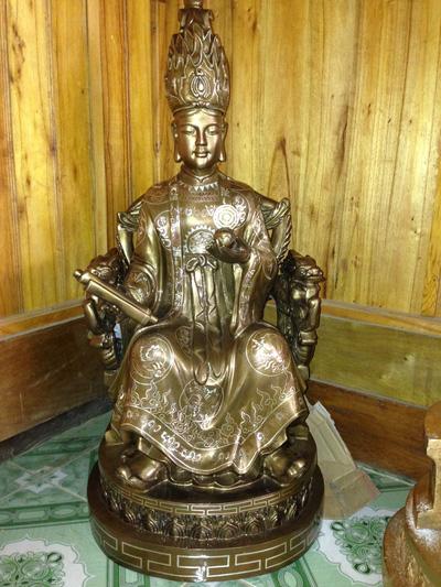 Tượng Mẫu Cửu Trùng Thiên, tượng mẫu cửu  bằng đông