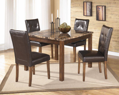 Theo Dining Table   4 Side Chairs