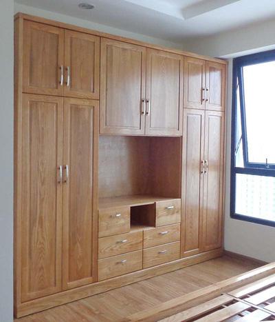 Tủ quần áo , tài liệu   chất liệu gỗ xoan