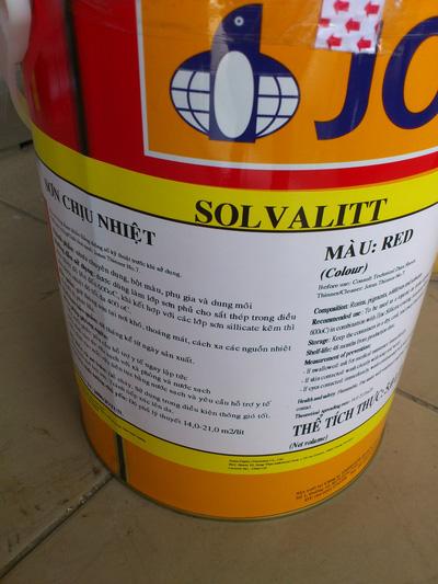 Sơn chịu nhiệt Epoxy Jotun Sovalitt 600 độ