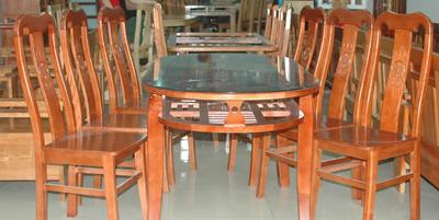 Bộ bàn ăn 6 ghế xoan đào EPA 129