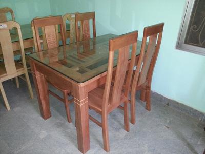 Bộ bàn ăn 4 ghế gỗ sồi EPA 132