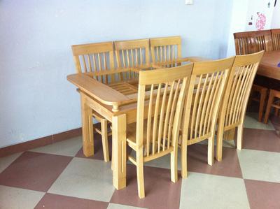 Bộ bàn ăn gỗ sồi nga EPA 146