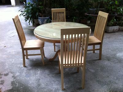 Bộ bàn ăn gỗ sồi EPA 156