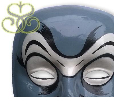 Đồ trang trí độc đáo   Bộ 9 cái mặt nạ treo ấn tượng mạnh