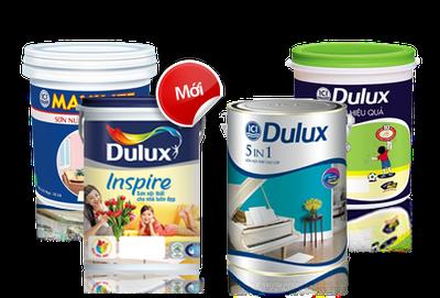 sơn dulux trong nhà, sơn dulux lau chùi hiệu quả
