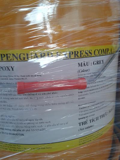 Sơn chống rỉ Epoxy jotun 2 thành phần Penguard Express