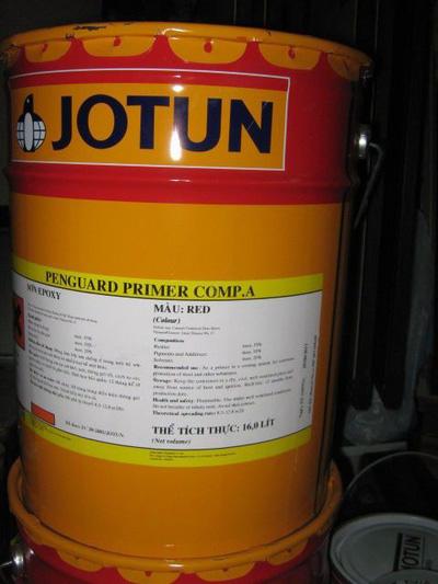 Sơn chống rỉ Epoxy jotun 2 thành phần penguard primer