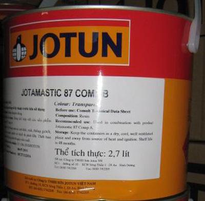 Sơn Jotun Epoxy Jotamastic 87 2 thành phần
