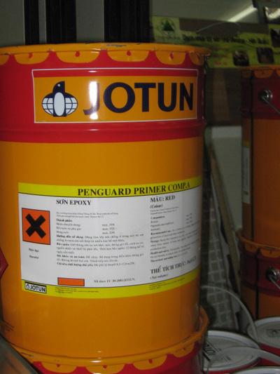 Sơn Jotun Epoxy Penguard Topcoat 2 thành phần
