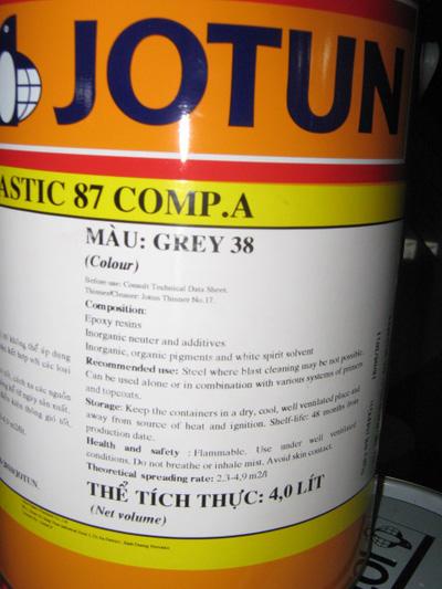 Sơn Epoxy Jotun Jotamastic 87