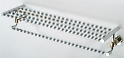 Giàn vắt khăn 2 tầng đồng mạ crom 66003