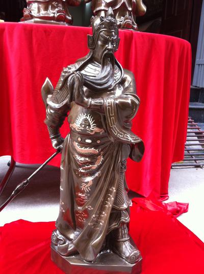 Tượng Quan Công đẹp, tượng Quan Vân Trường , tượng đồng đẹp