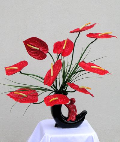 Hoa lụa   Hoa nghệ thuật