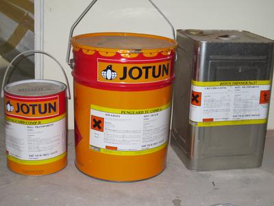 Sơn Jotun 2 thành phần gốc Epoxy phủ hoàn thiện kết cấu thép