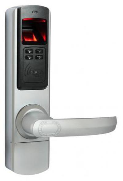 Khóa cửa bằng vân tay và thẻ từ ADEL 5600