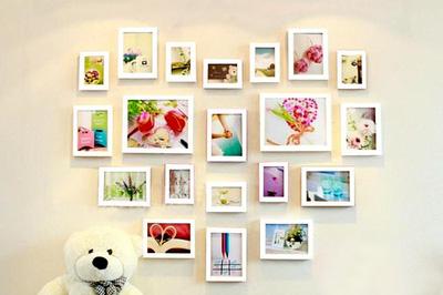 Bộ khung ảnh trang trí nghệ thuật   In ảnh miễn phí