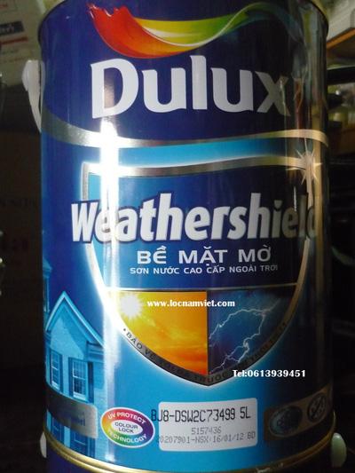Sơn Nước Dulux weathershield 5 lít