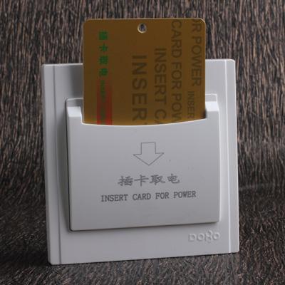 Công tắc điện DOBO, Seri V3.0 màu trắng, mặt vuông