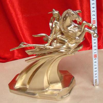 Tượng Thánh Gióng, tượng đồng nguyên chất