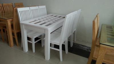 bộ bàn ăn cao cấp GBA037