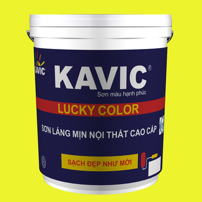 Sơn láng mịn nội thất Lucky Color