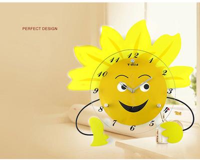 Đồng hồ treo tường hoa mặt trời