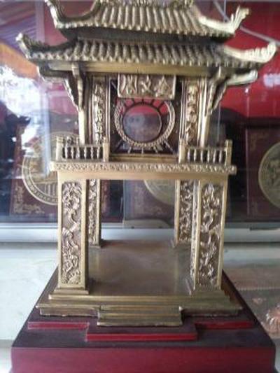 Khuê văn các 10cm,tượng văn miếu quốc tử giám hà nội 15cm