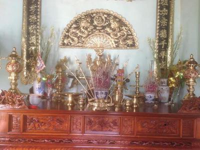 Bộ đồ thờ bằng đồng đài loan thờ cúng gia tiên   hà nội