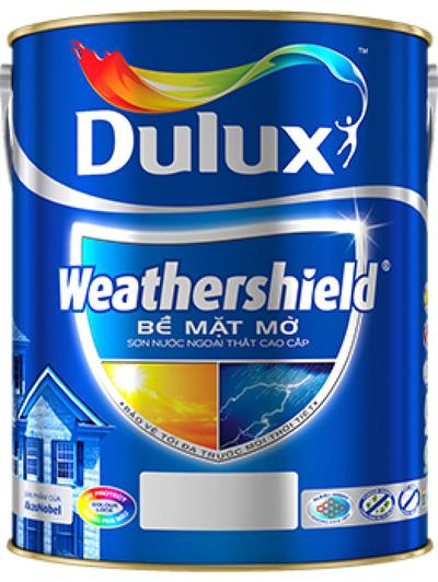Sơn Nước Cao Cấp Ngoài Trời Dulux Weathershield Max
