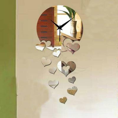 Đồng hồ treo tường hình trái tim MS004
