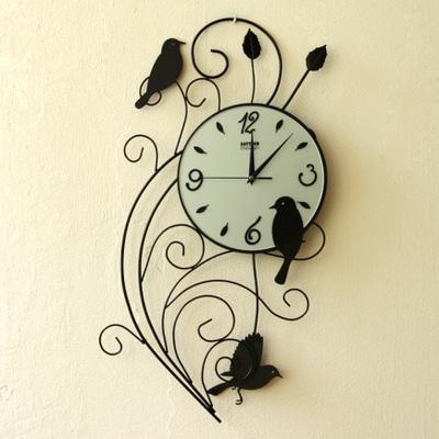 Đồng hồ treo tường hình Chim MS008