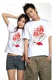 Áo thun đôi hè mua tại Shop thời trang 344 Bạch Mai và 254B Nguyễn Trãi