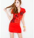 Sành điệu cùng váy liền thân Hàn Quốc