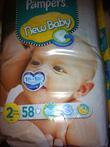 Bỉm xách tay từ Anh cho trẻ sơ sinh từ 0 đến 3 tháng tuổi