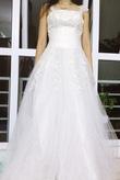 Váy cưới mới tinh em chỉ mặc một lần