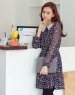 Váy liền thân Hàn Quốc hiệu Berry đẹp quyến rũ đến từng chi tiết