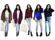 Jean BBG jeans rách 1 cá tính Thế giới quần jeans cho bạn gái năng động