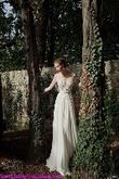 Đầm maxi voan phối ren tay dài sang trọng quyến rũ về hàng tháng 4 màu đen, trắng